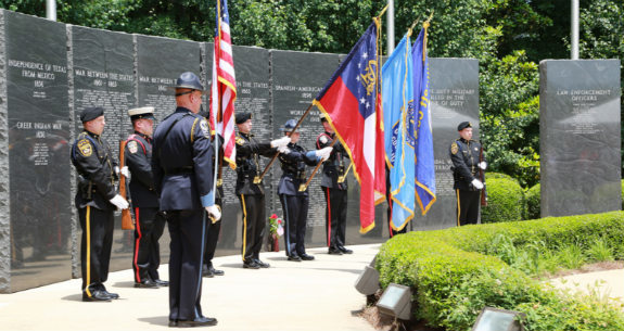 Memorial Day Ceremony in Honor of Gwinnett Fallen Heroes
