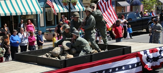 2018 Celebrate Commemorate Parade in Waterloo, NY