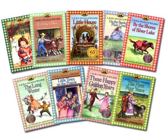 Little House on the Prairie books by Laura Ingalls Wilder
