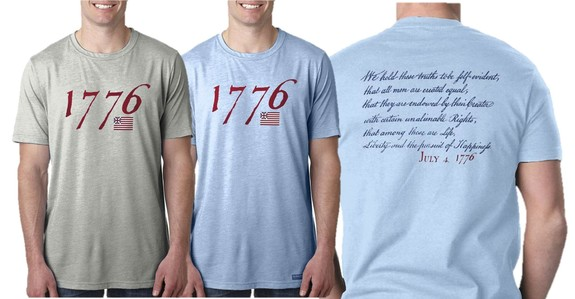 """We hold these truths - July 4, 1776"" T-shirt"