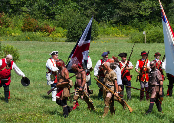Living History Event, Historic Hillsborough, NH
