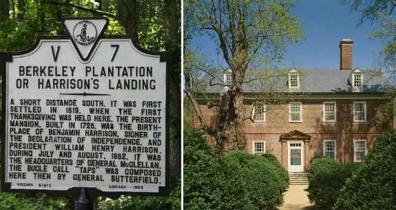 Benjamin Harrison - Berkeley Plantation