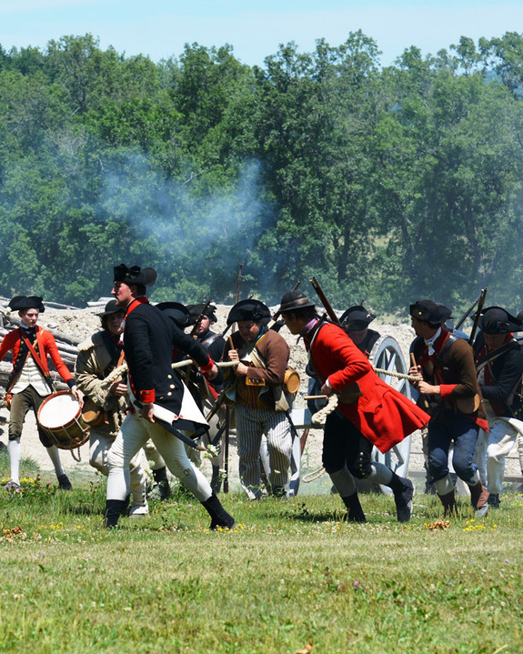 Fort Ticonderoga Battle Reenactment