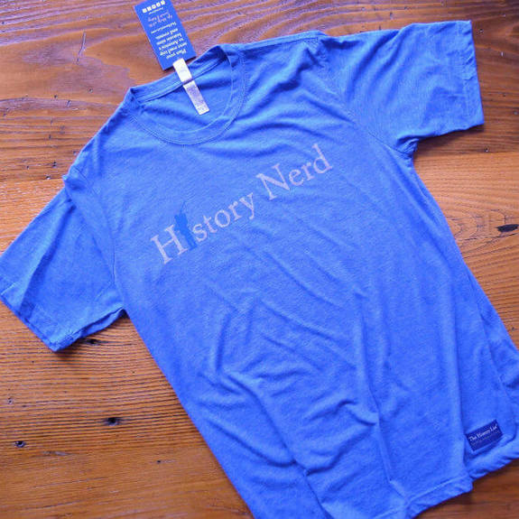 "Civil War ""History Nerd"" shirt in dark blue"
