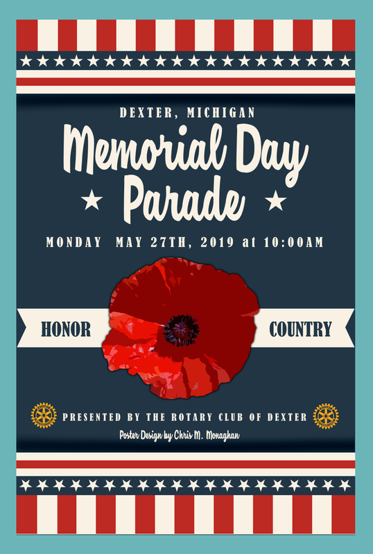 Memorial Day Parade, Dexter, Michigan
