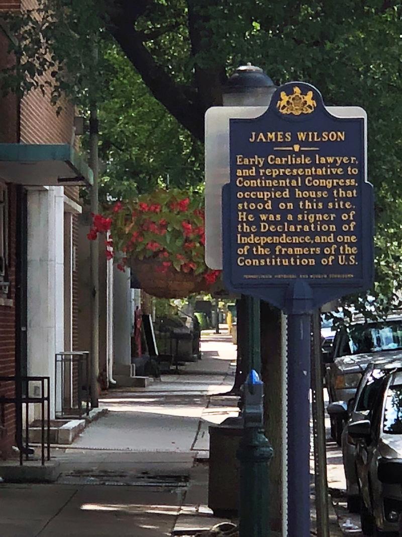 James Wilson House Site
