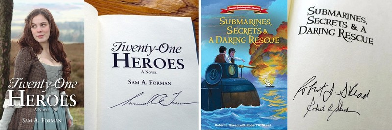 21 Heroes and Patriots, Submarines, Secrets, and Daring Rescue book