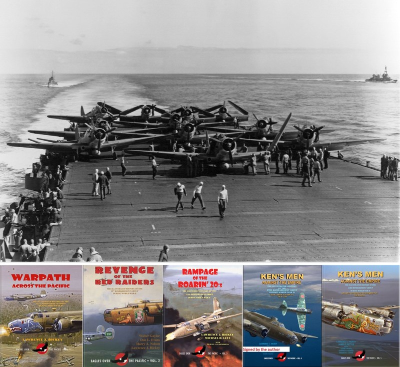 """Eagles over The Pacific"" Books series"