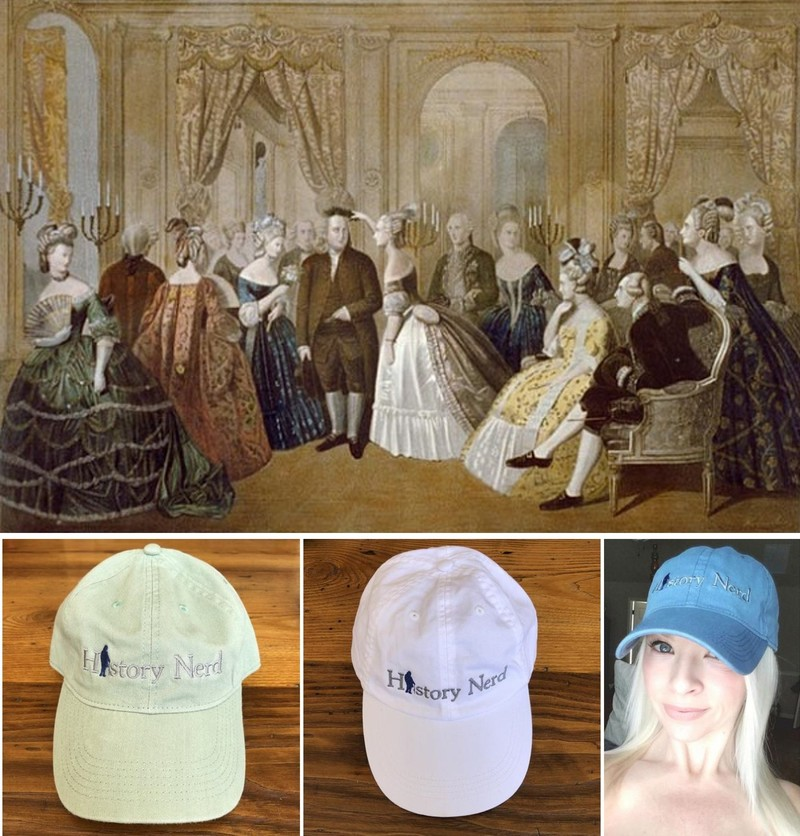 History Nerd with Ben Franklin caps