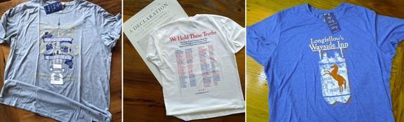 History traveler shirts
