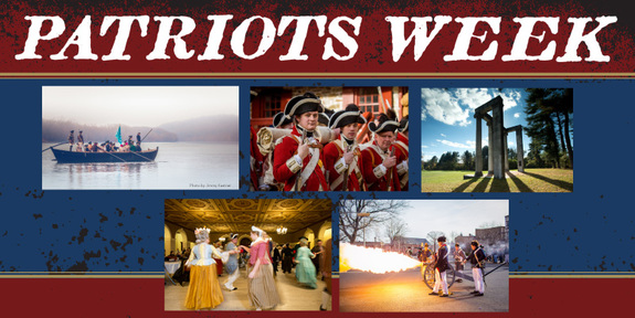 Patriots Week in Trenton, New Jersey