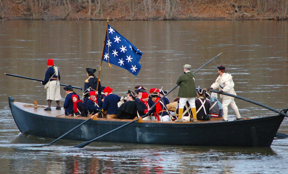 Christmas Day Crossing Reenactment