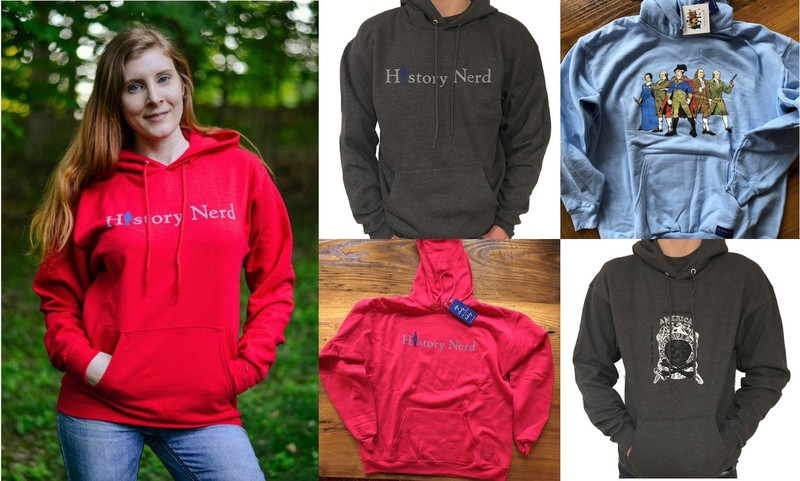 Pullover sweatshirts from The History List