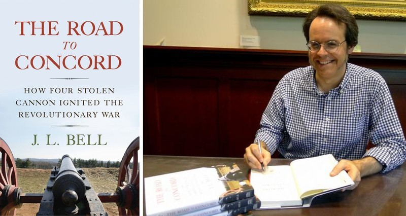 The Road to Concord book by J. L. Bell