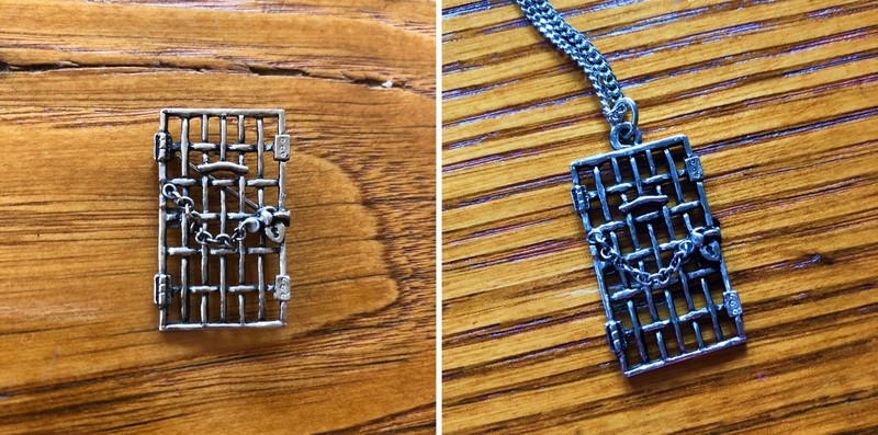 Jailed for Freedom pin and pendant