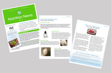 HiT Nutrition News healthy info for a healthy lifestyle