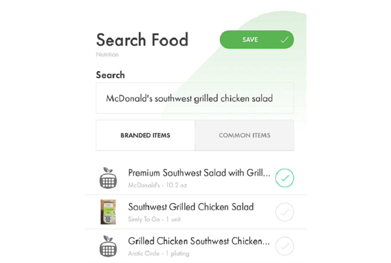 Image of (HiT's) Health info Tracker's searchable food database for counting calories, dieting and healthy living.