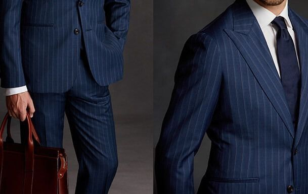 CUSTOM-MADE BUSINESS SUITS LG