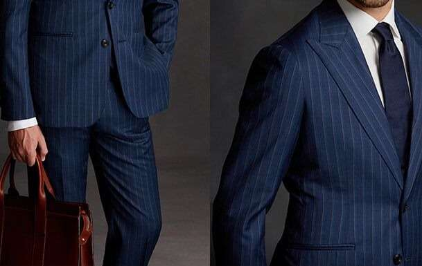 CUSTOM-MADE BUSINESS SUITS XS