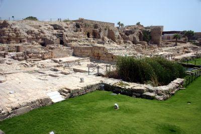 Caesarea Temple of Augustus and Roma