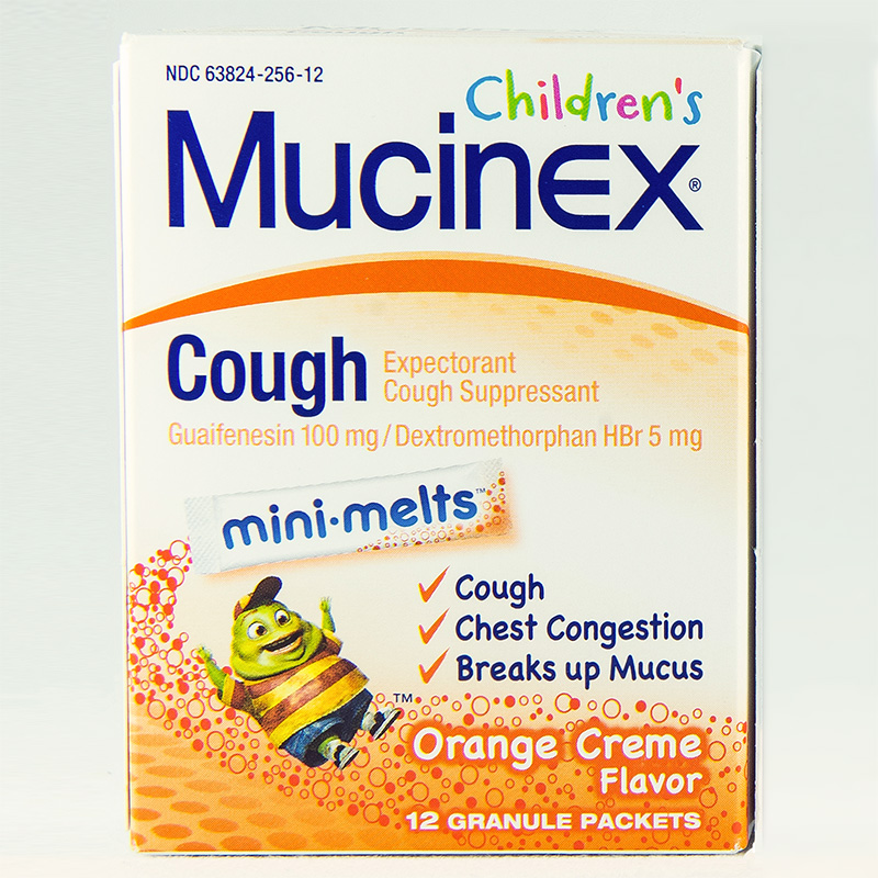 Mucinex Cough For Kids Mini Melts Dosage Rx Info Uses Side