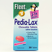 PEDIA-LAX CHEWABLE TABLETS
