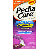 PEDIACARE CHILDREN'S COLD & FLU HYDRATION