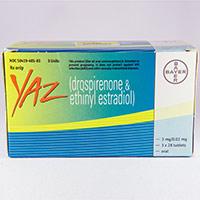 YAZ (Drospirenone,Ethinyl estradiol) dosage, indication