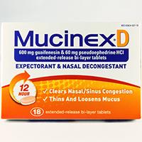 MUCINEX D