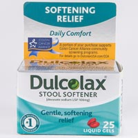 Dulcolax Stool Softener Docusate Sodium Dosage