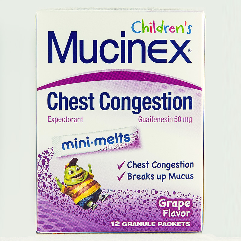 Childrens Mucinex Mini Melts Dosage Rx Info Uses Side Effects
