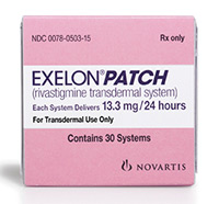 Exelon patch for dementia