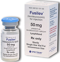 FUSILEV (Levoleucovorin) dosage, indication, interactions