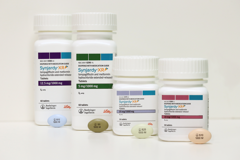 SYNJARDY XR (Empagliflozin,Metformin HCl) dosage