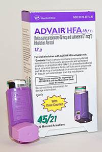 side effects of advair hfa 230 21