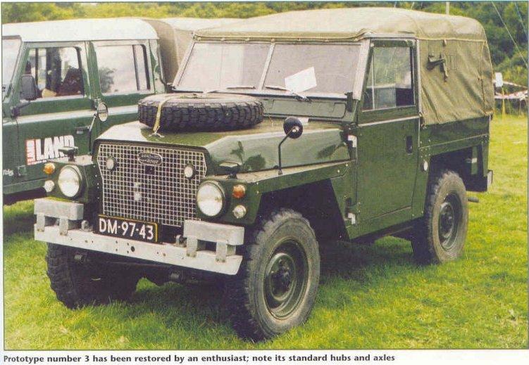 Land Rovers in Deep Bronze Green? - British Vehicles - HMVF