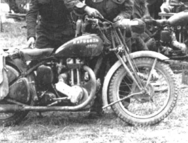 WW2 RAF bikes Motorcycles HMVF Historic Military