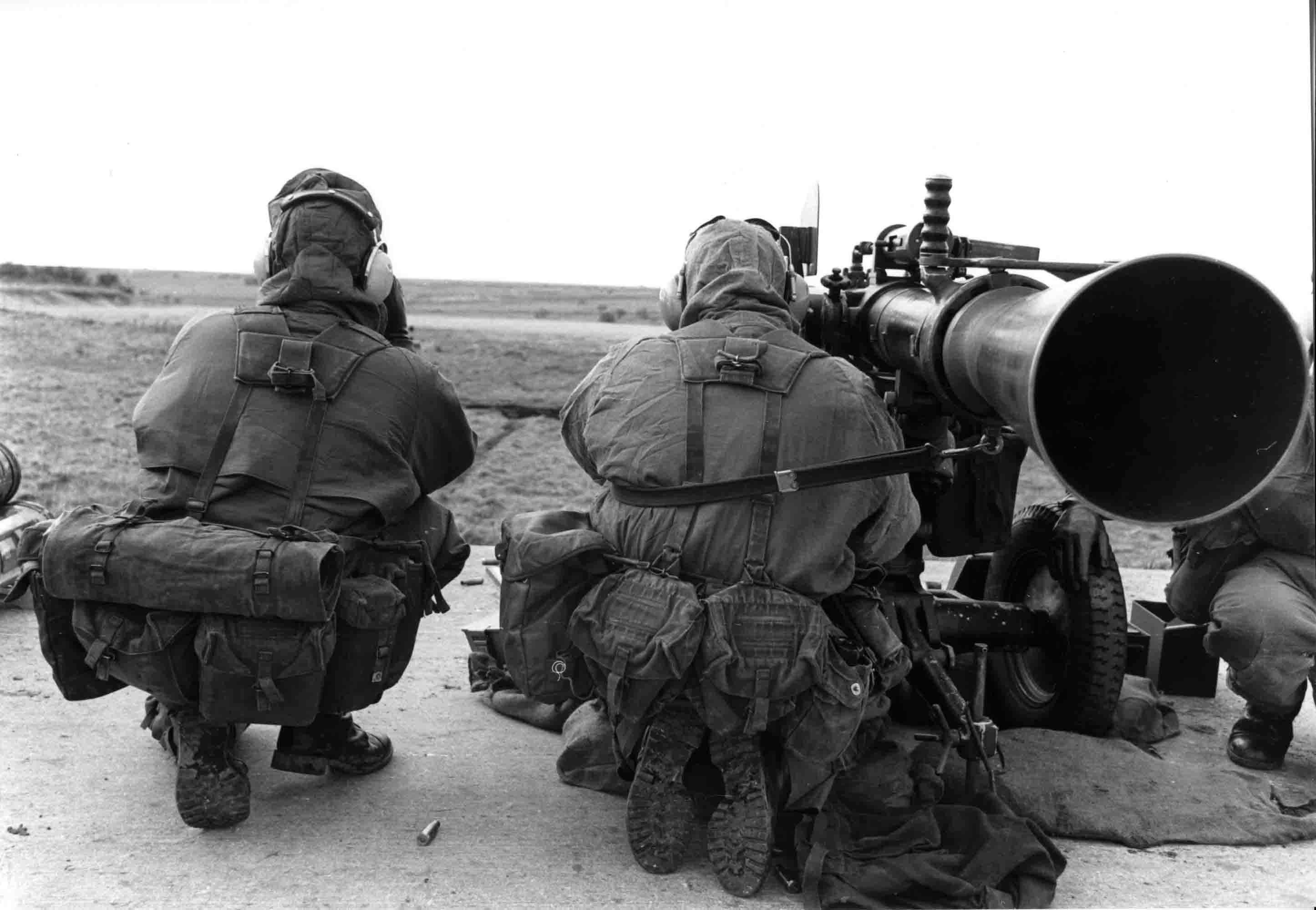 anti tank gun wombat