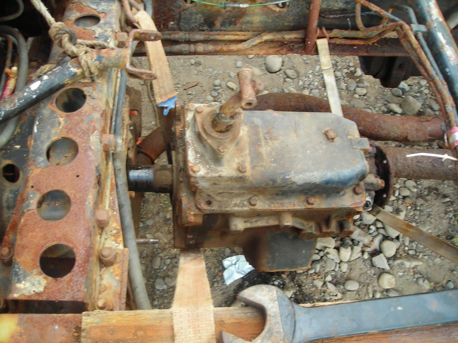 Bedford TK gearbox in a MK - I may be stupid, but       - HMVF