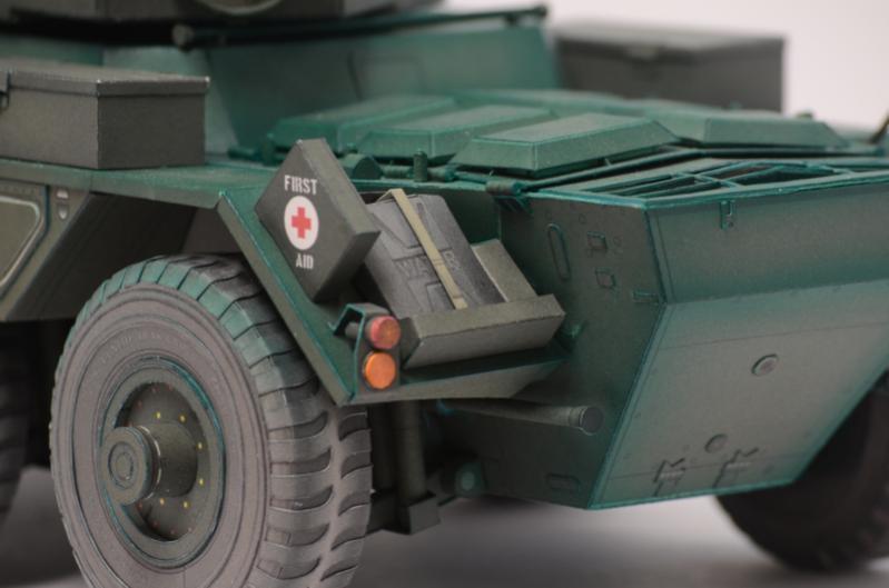 Saladin Mk 2 Armoured Car - Military Scale Models - HMVF