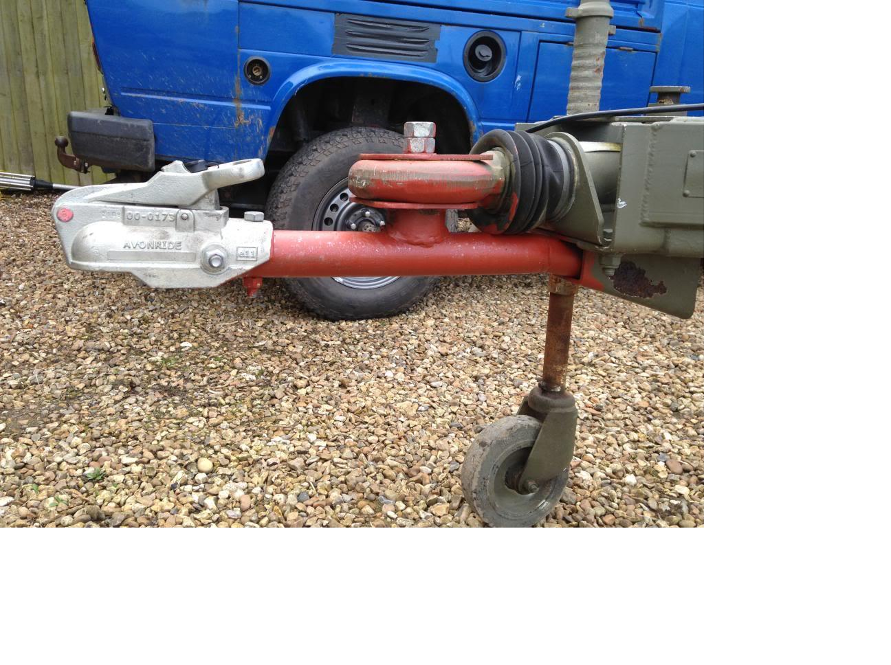 Breakdown Recovery When Towing A Trailer Witha Nato Hitch