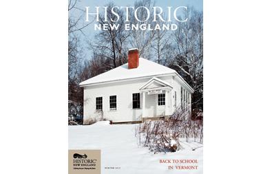 Historic New England Magazine, Winter 2015 ( Vol. 15, No. 3)