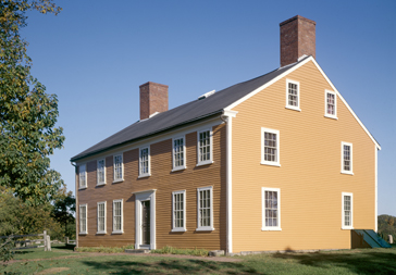 Cogswell's Grant. Exterior of house.