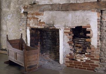 Spencer-Peirce-Little Farm, Newbury, MA. Kitchen chamber.