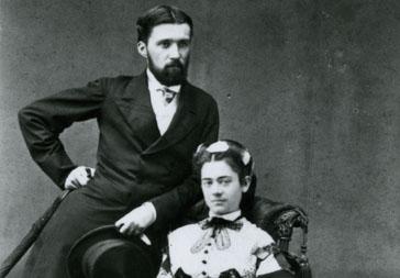 Ogden Codman, Sr. and Sarah Bradlee Codman, 1864.