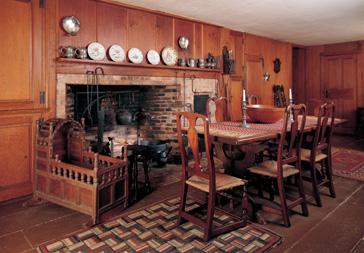 Winslow Crocker House - kitchen