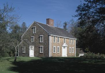 Winslow Crocker House, Yarmouthport, MA., exterior.