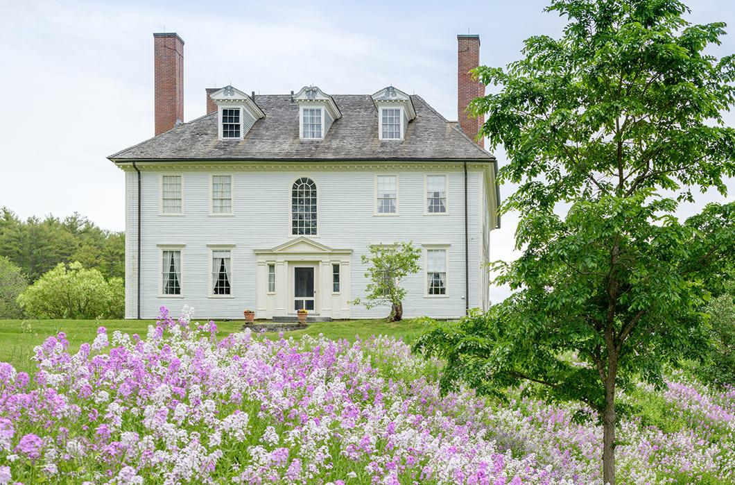 Hamilton House exterior, South Berwick, Maine