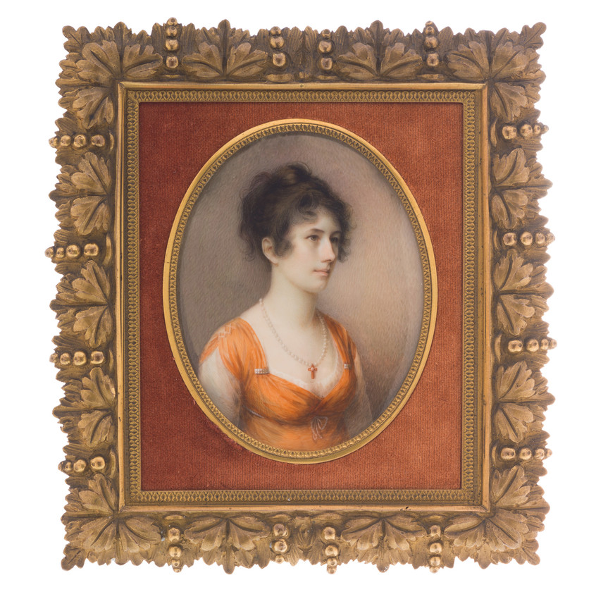 Portrait of Sally Foster Otis