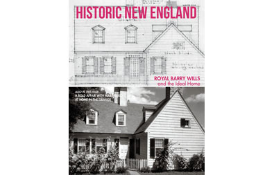 Historic New England Magazine Winter 2018 cover
